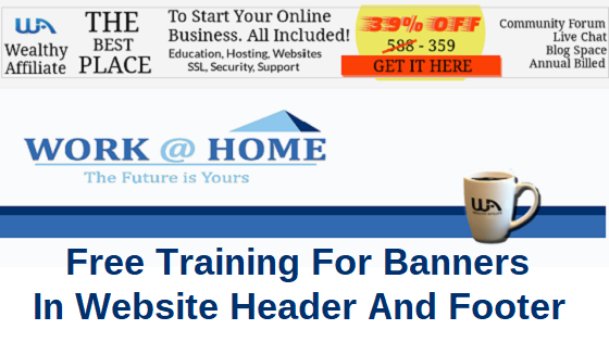 Free Training For Banners In Website Header And Footer