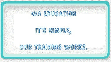 WA its simple our training works