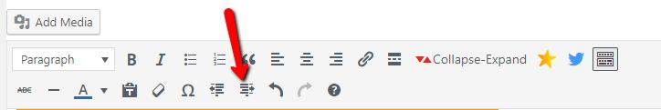 padding tool WordPress