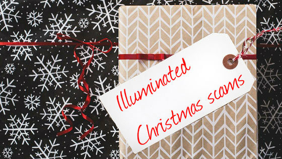 Illuminated Christmas scams