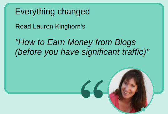Lauren Kinghorn - everything changed