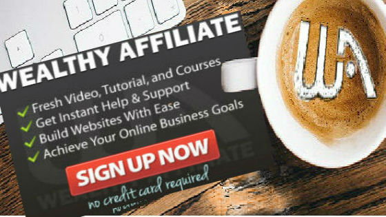 Coffee banner Wealthy Affiliate