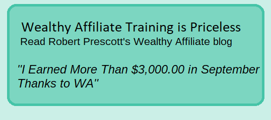 Robert Prescott - I earned more than 3.000.00 in September blog