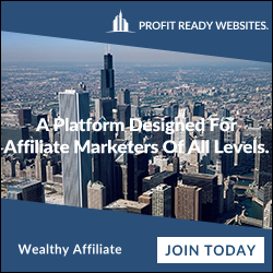 Wealthy Affiliate banner ad join today