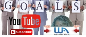 YouTube subscribe button WA