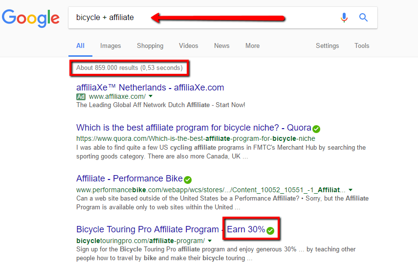 What is the secret of affiliate marketing