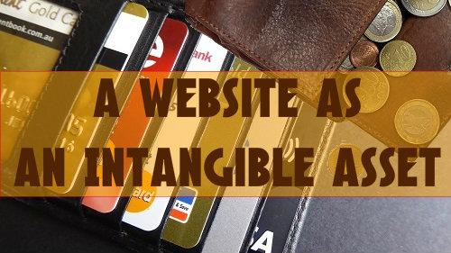 A Website As An Intangible Asset