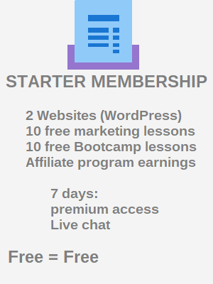 Wealthy Affiliate starter account