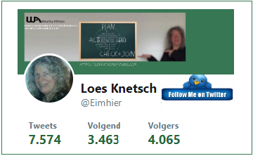 Contact Loes on Twitter