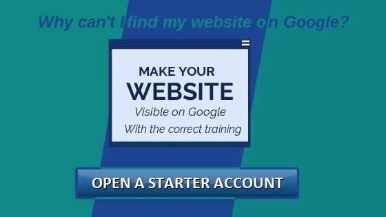 Make your website visible on Google