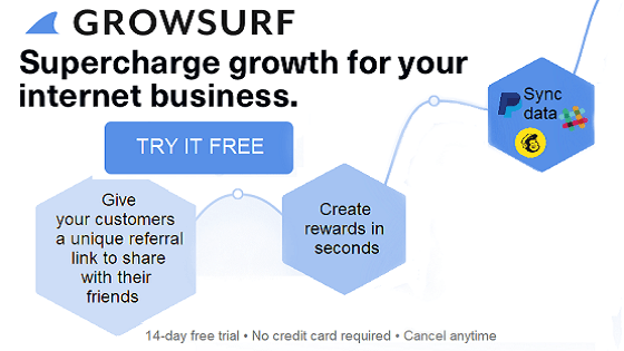 GrowSurf Customer Rewards Referral Program Software